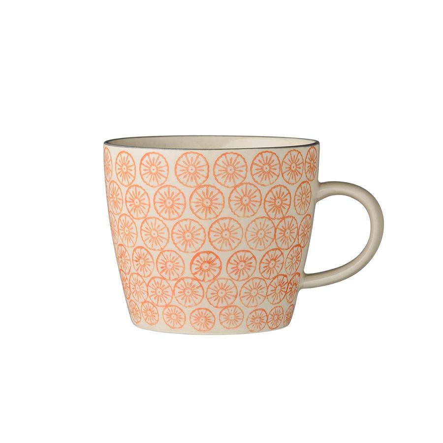 bloomingville tasse mit henkel carla orange online kaufen. Black Bedroom Furniture Sets. Home Design Ideas