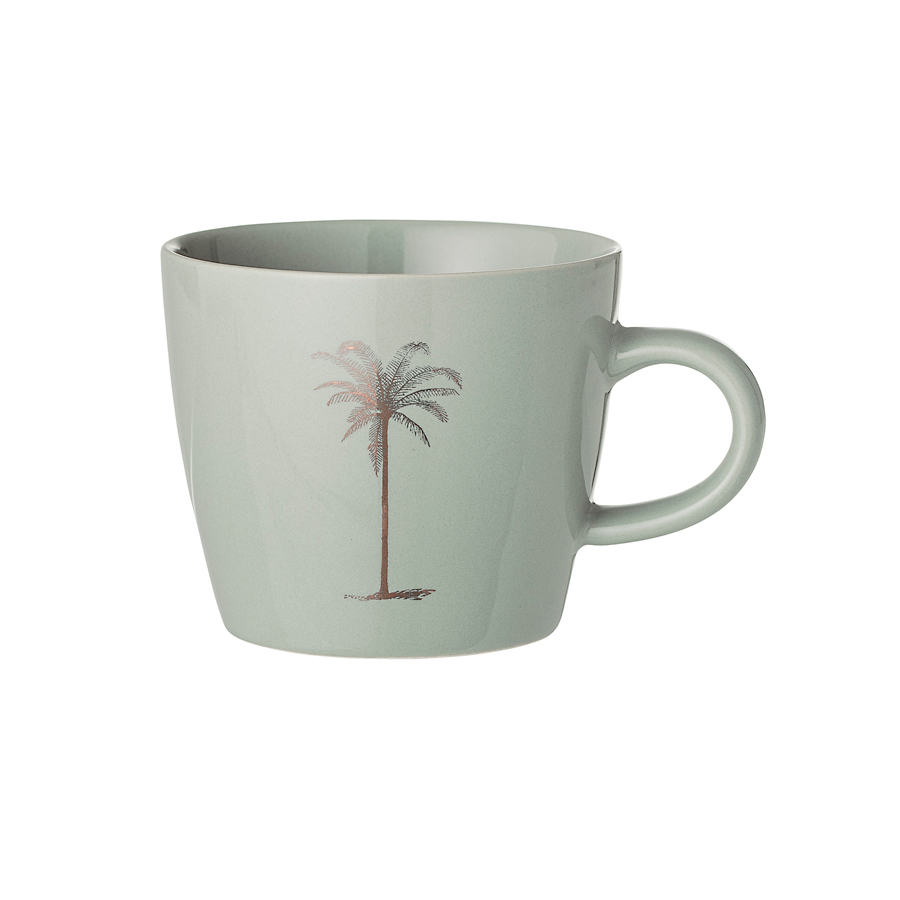 bloomingville tasse palm green online kaufen emil paula. Black Bedroom Furniture Sets. Home Design Ideas