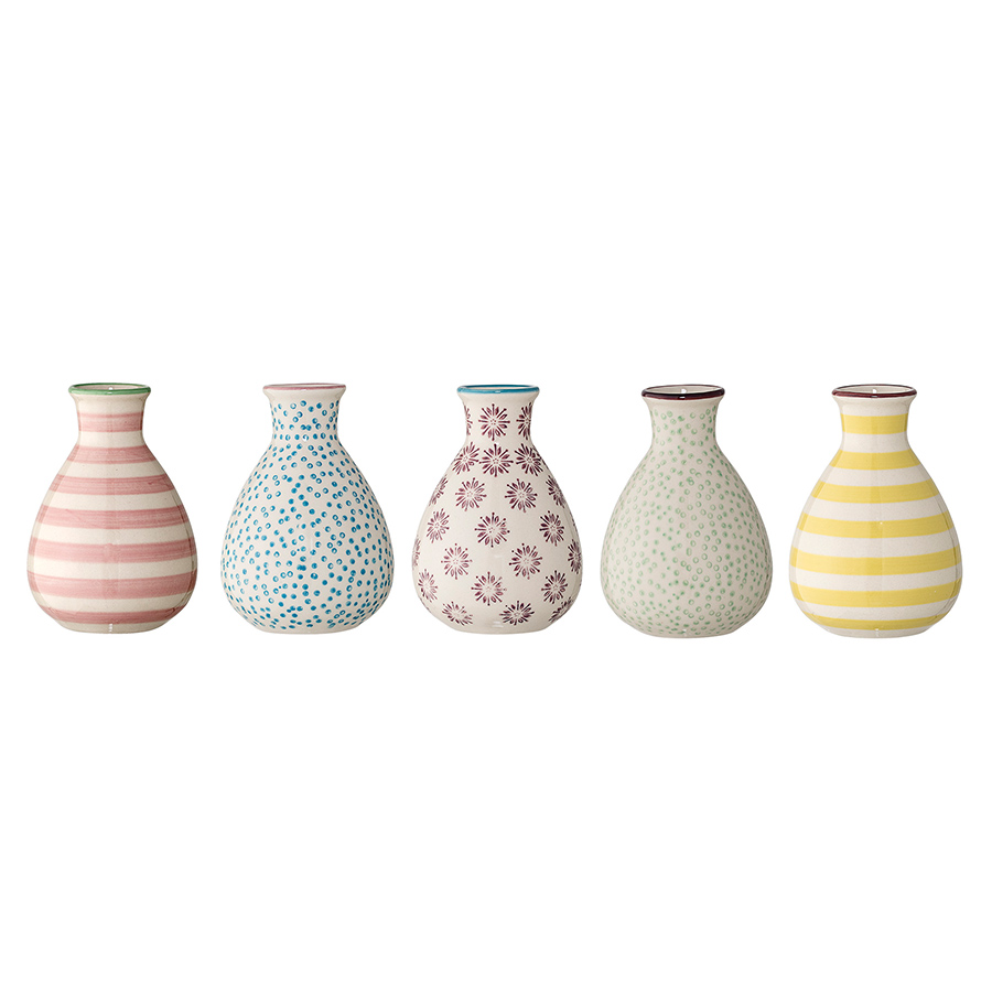 bloomingville vase patrizia multi color online kaufen emil paula. Black Bedroom Furniture Sets. Home Design Ideas