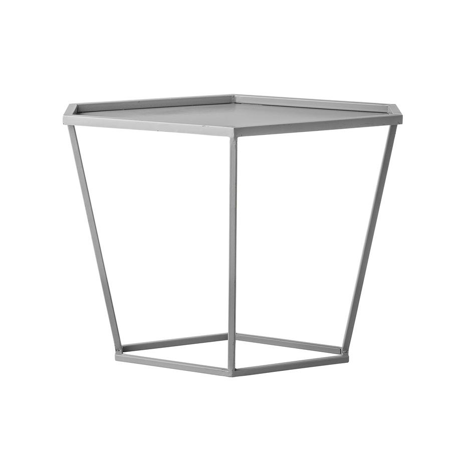 bloomingville beistelltisch grey metal online kaufen emil paula. Black Bedroom Furniture Sets. Home Design Ideas