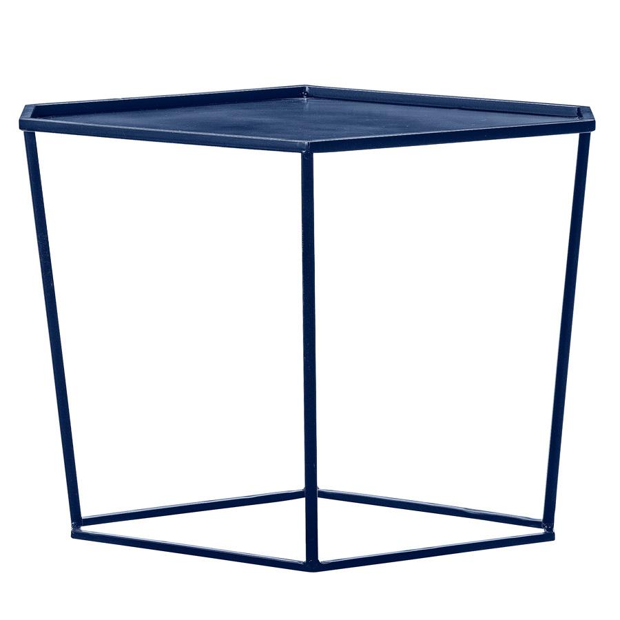 bloomingville beistelltisch metall navy online kaufen emil paula. Black Bedroom Furniture Sets. Home Design Ideas