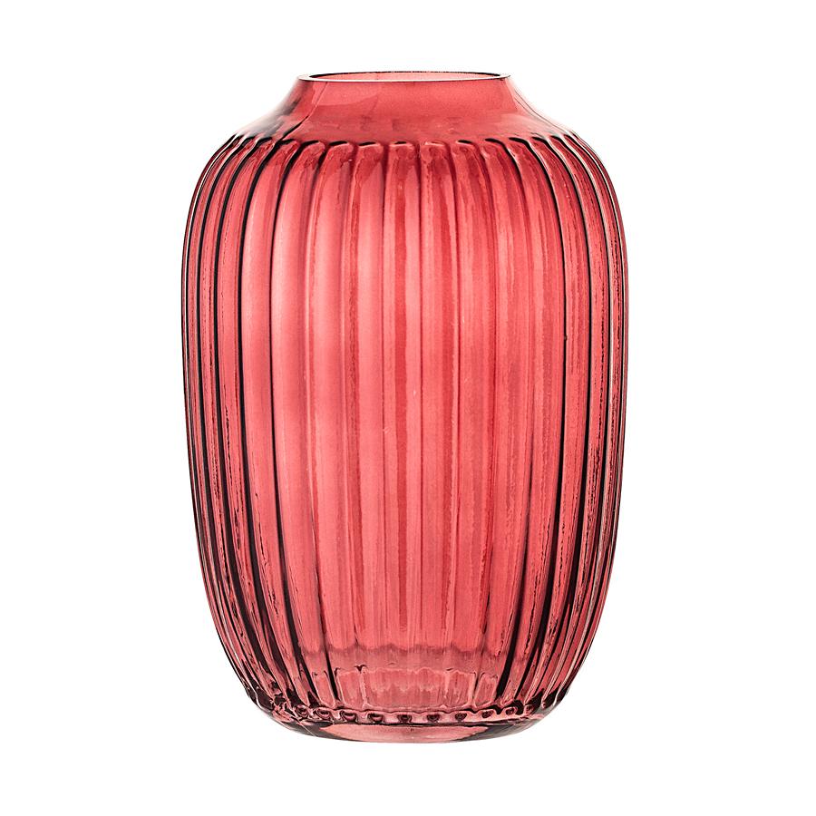 bloomingville vase red online kaufen emil paula. Black Bedroom Furniture Sets. Home Design Ideas