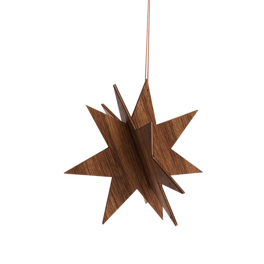 ferm living weihnachtsstern eiche gro online kaufen emil paula. Black Bedroom Furniture Sets. Home Design Ideas