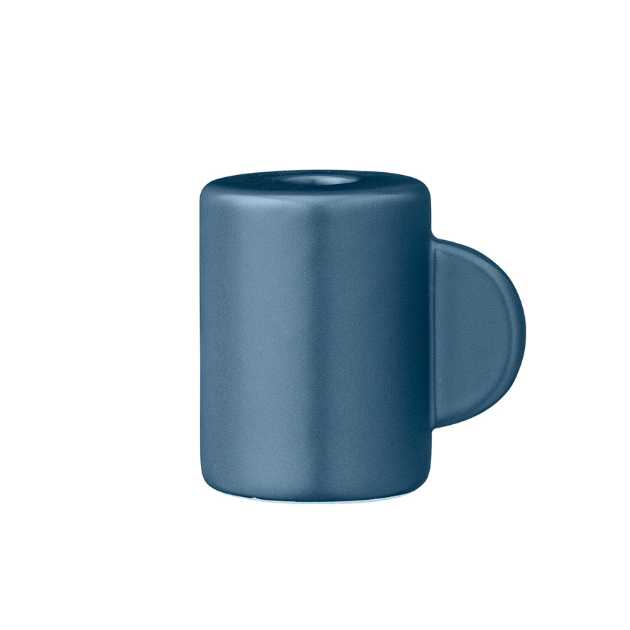 bloomingville kerzenhalter midnight blue online kaufen emil paula. Black Bedroom Furniture Sets. Home Design Ideas