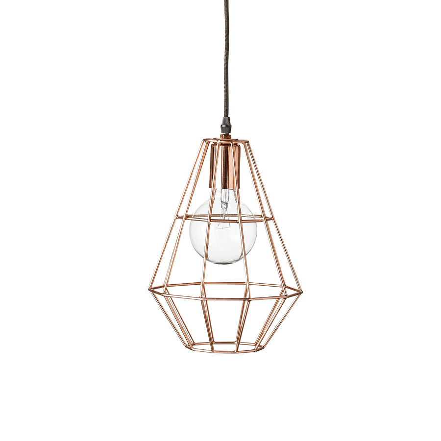 bloomingville deckenlampe pernille kupfer online kaufen. Black Bedroom Furniture Sets. Home Design Ideas