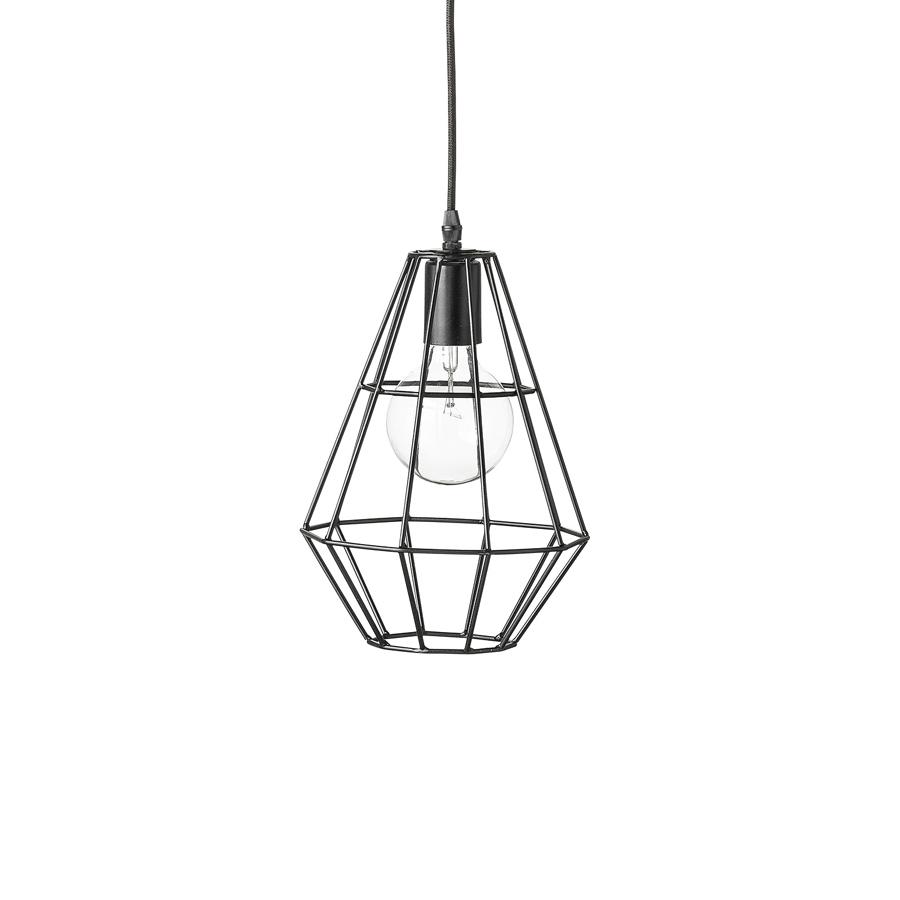 bloomingville deckenlampe pernille matt schwarz online kaufen emil paula. Black Bedroom Furniture Sets. Home Design Ideas