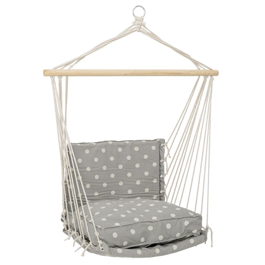 bloomingville h ngestuhl cool grey dots online kaufen emil paula. Black Bedroom Furniture Sets. Home Design Ideas