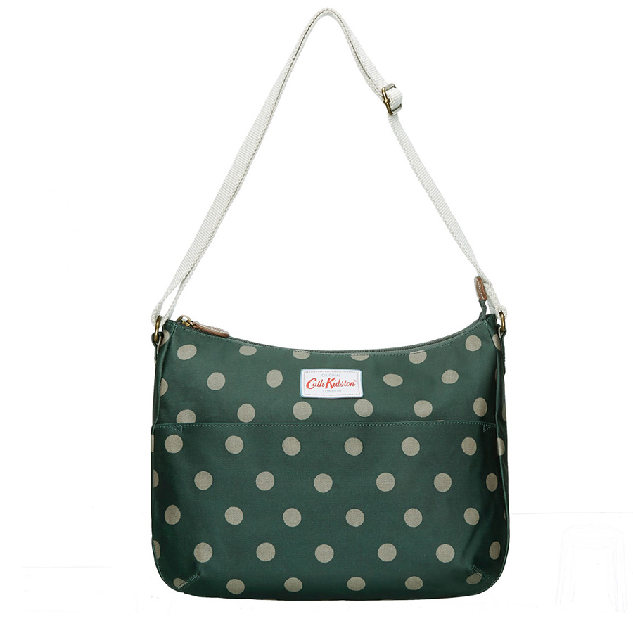 cath kidston sac main everyday bag button spot forest. Black Bedroom Furniture Sets. Home Design Ideas