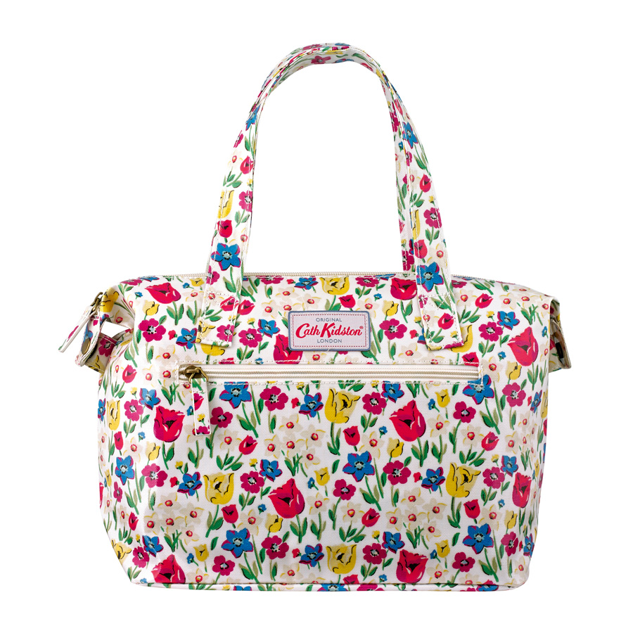 cath kidston kleine handtasche paradise fields chalk online kaufen emil paula. Black Bedroom Furniture Sets. Home Design Ideas
