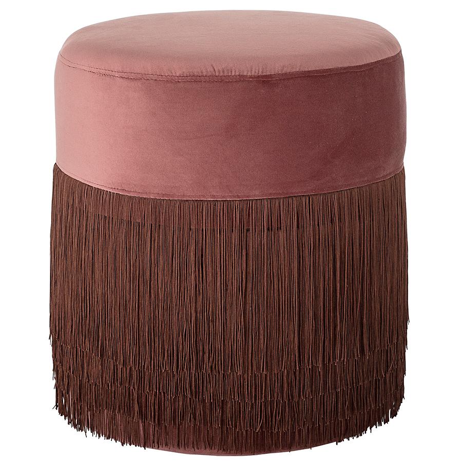 bloomingville hocker pouf rose online kaufen emil paula. Black Bedroom Furniture Sets. Home Design Ideas