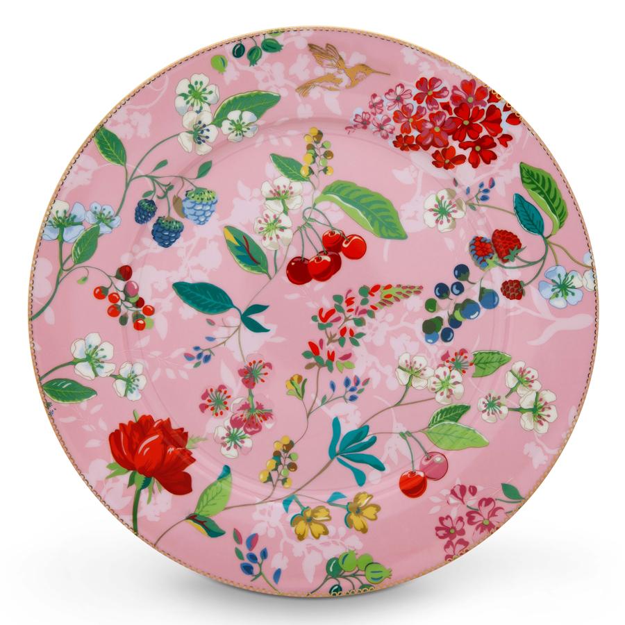 pip studio teller hummingbirds pink 32 cm online kaufen emil paula. Black Bedroom Furniture Sets. Home Design Ideas
