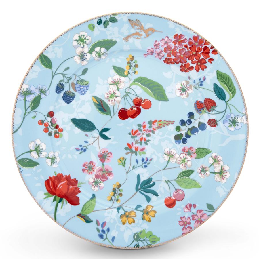 pip studio teller hummingbirds blue 32 cm online kaufen emil paula. Black Bedroom Furniture Sets. Home Design Ideas
