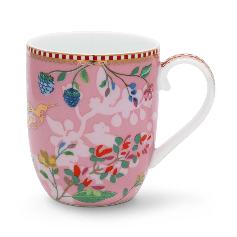 pip studio kleine tasse hummingbirds pink 145 ml online kaufen emil paula. Black Bedroom Furniture Sets. Home Design Ideas