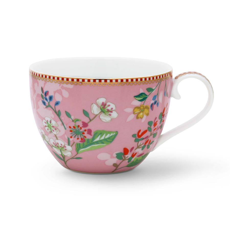 pip studio tasse xl hummingbirds pink 450 ml online kaufen emil paula. Black Bedroom Furniture Sets. Home Design Ideas