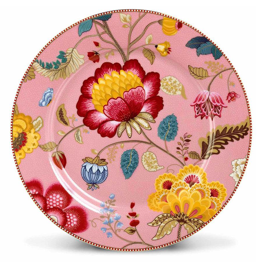 pip studio gro er porzellan teller fantasy pink 32 cm online kaufen emil paula. Black Bedroom Furniture Sets. Home Design Ideas