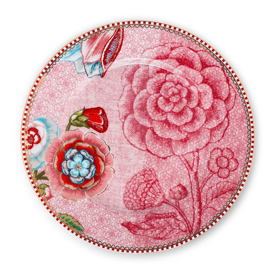 pip studio teller spring to life pink 17 cm online kaufen emil paula. Black Bedroom Furniture Sets. Home Design Ideas