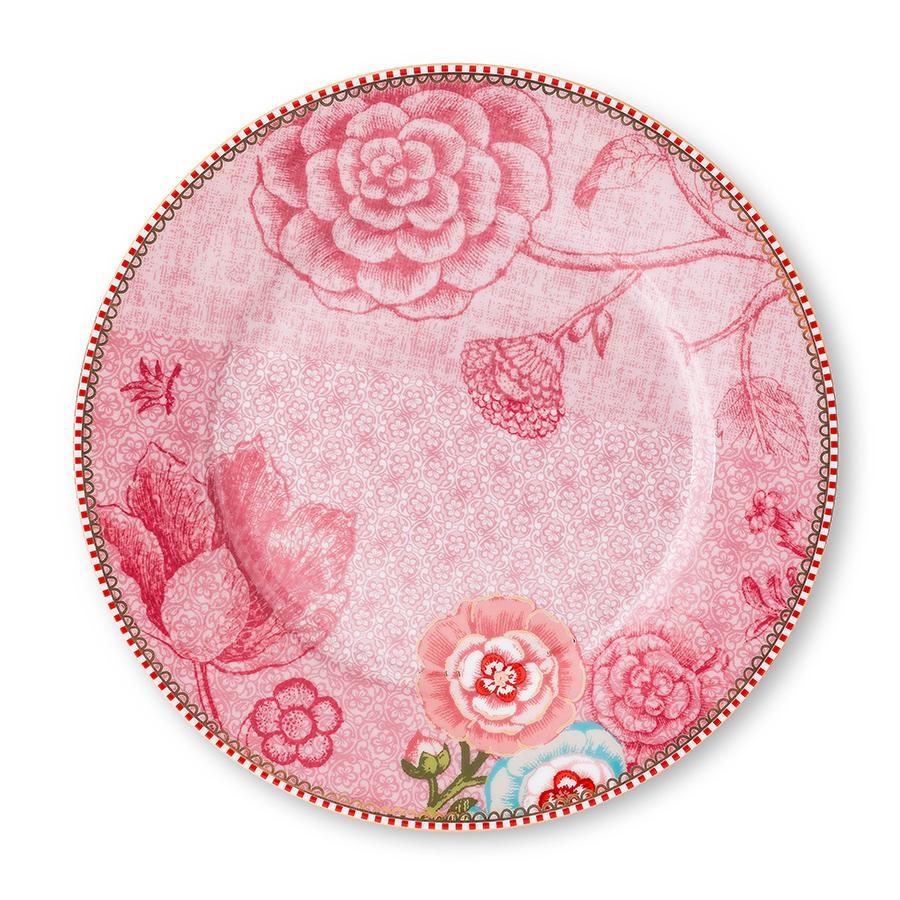 pip studio teller spring to life pink 21 cm online kaufen emil paula. Black Bedroom Furniture Sets. Home Design Ideas
