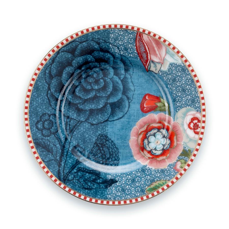 pip studio kleiner teller spring to life blue 12 cm online kaufen emil paula. Black Bedroom Furniture Sets. Home Design Ideas