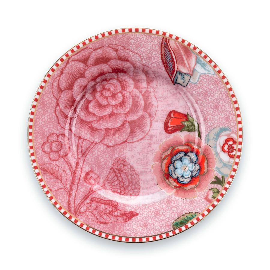 pip studio kleiner teller spring to life pink 12 cm online kaufen emil paula. Black Bedroom Furniture Sets. Home Design Ideas