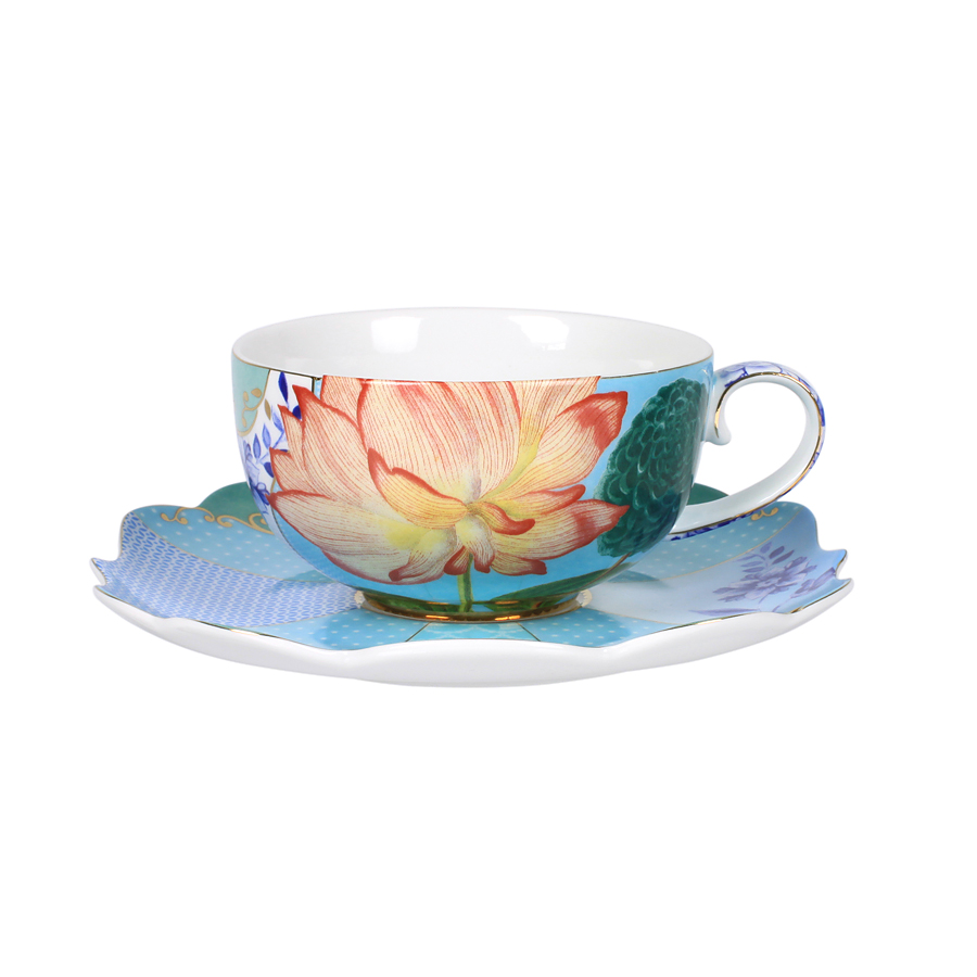 pip studio porzellan tasse mit untertasse royal online kaufen emil paula. Black Bedroom Furniture Sets. Home Design Ideas