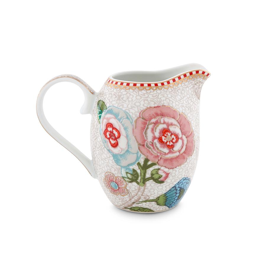 Pip studio jug small spring to life off white acheter en - Acheter vaisselle pip studio ...