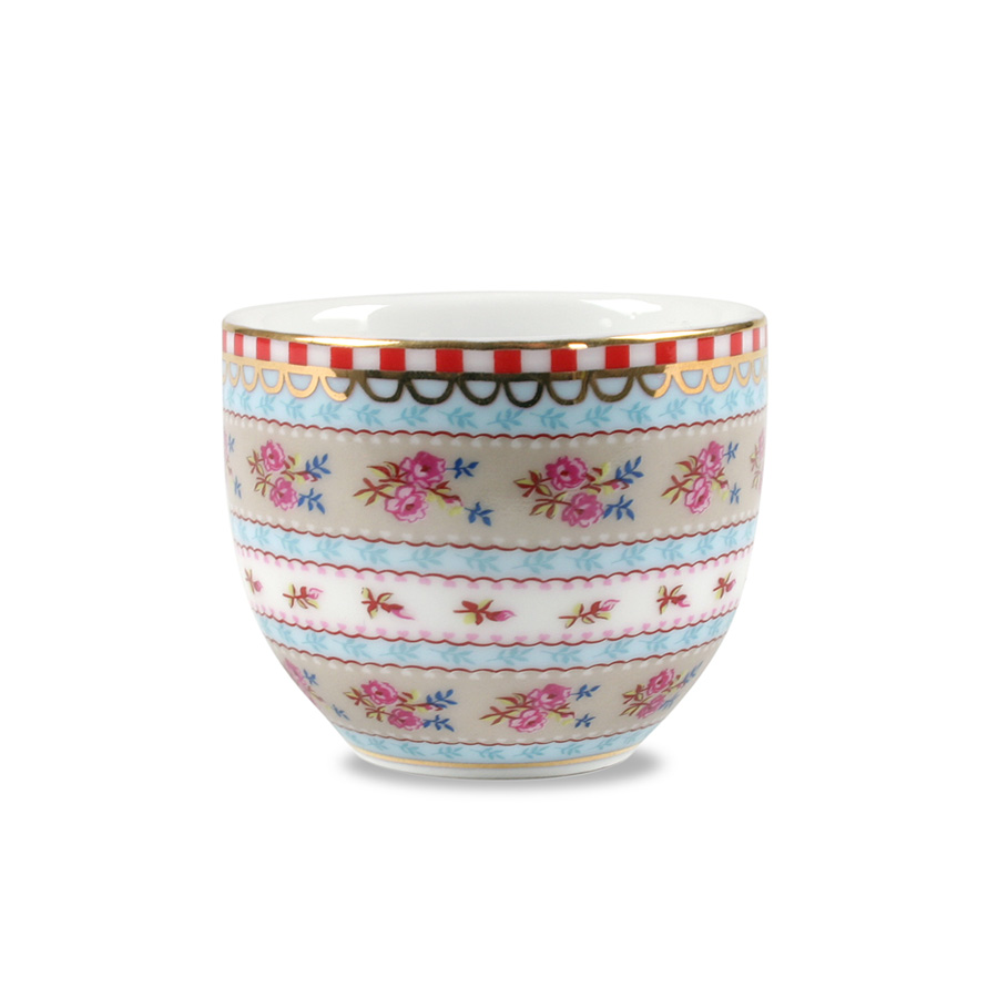 Pip studio egg cup ribbon rose khaki acheter en ligne - Acheter vaisselle pip studio ...