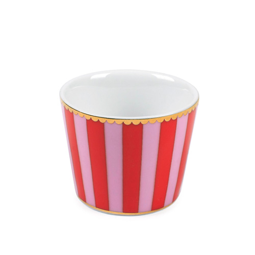 emil paula pip studio egg cup love birds red pink stripes acheter en ligne. Black Bedroom Furniture Sets. Home Design Ideas