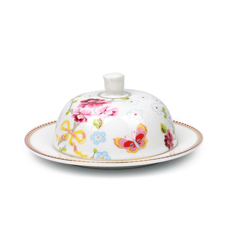 Pip studio butterdish large chinese rose white acheter en - Acheter vaisselle pip studio ...