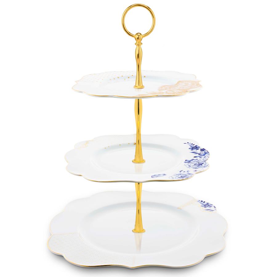 pip studio etagere 3 st ckig royal white online kaufen. Black Bedroom Furniture Sets. Home Design Ideas