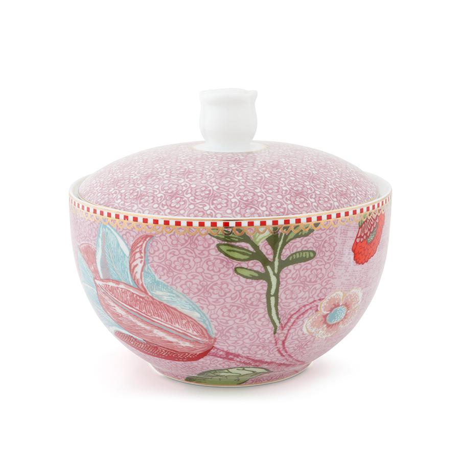 pip studio aufbewahrungsdose spring to life pink online kaufen emil paula. Black Bedroom Furniture Sets. Home Design Ideas