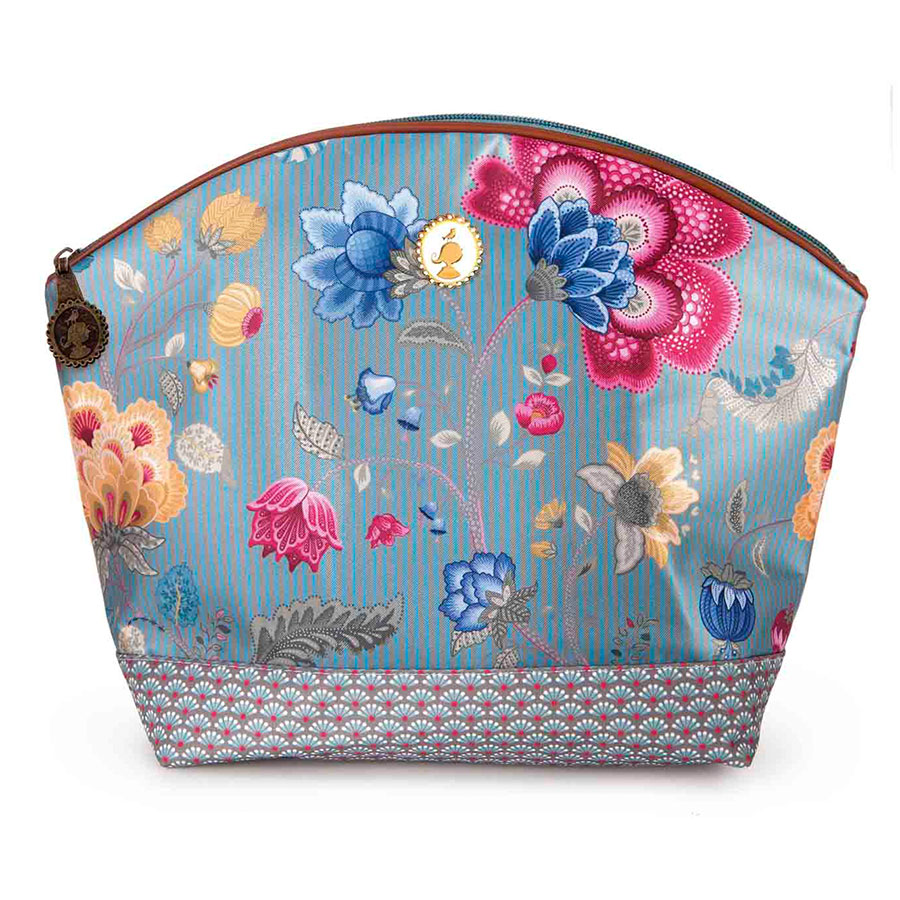 pip studio kosmetiktasche medium fantasy bloomingtales blue online kaufen emil paula. Black Bedroom Furniture Sets. Home Design Ideas