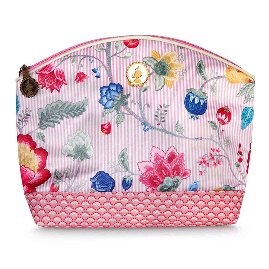 pip studio kosmetiktasche medium fantasy bloomingtales pink online kaufen emil paula. Black Bedroom Furniture Sets. Home Design Ideas