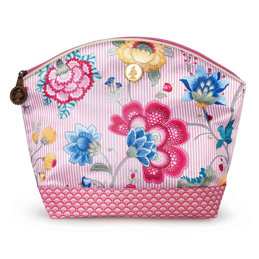 pip studio gro e kosmetiktasche fantasy bloomingtales pink online kaufen emil paula. Black Bedroom Furniture Sets. Home Design Ideas
