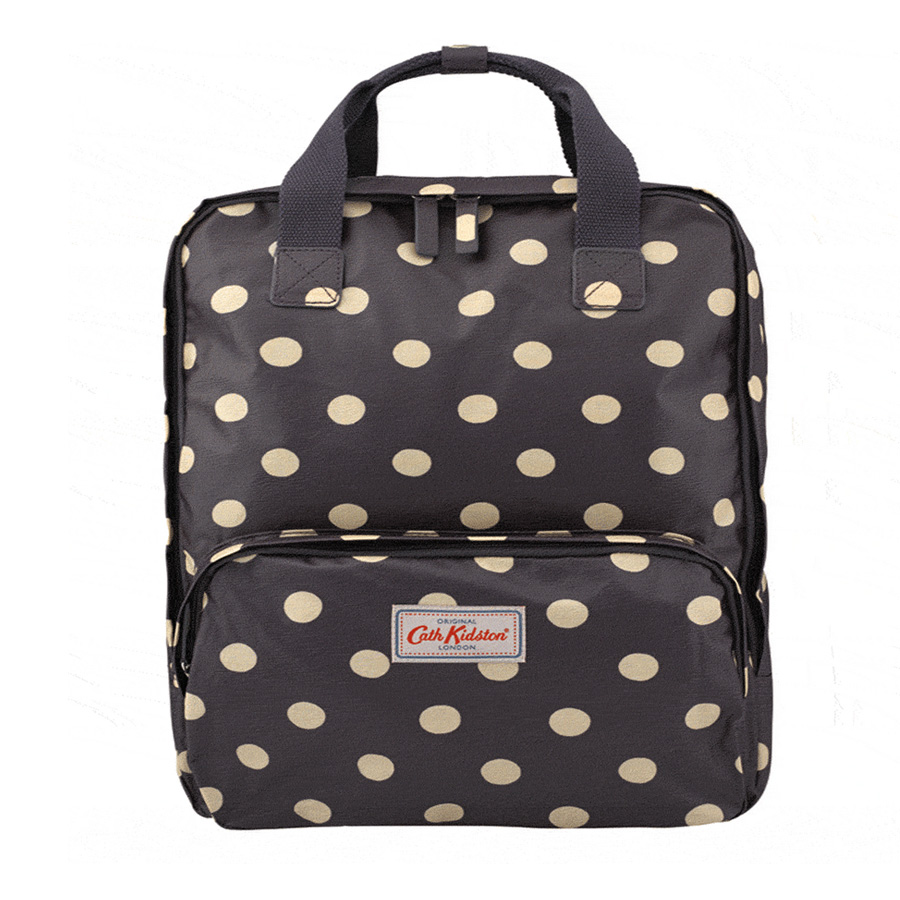 cath kidston rucksack button spot grape online kaufen emil paula. Black Bedroom Furniture Sets. Home Design Ideas