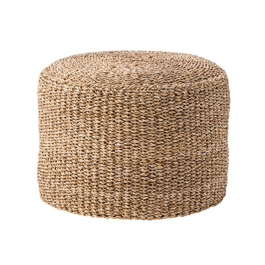 bloomingville sitzhocker pouf seegras nature online kaufen. Black Bedroom Furniture Sets. Home Design Ideas