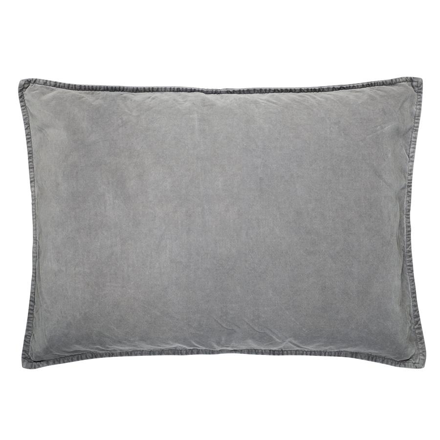 ib laursen kissenbezug velour smoke online kaufen emil. Black Bedroom Furniture Sets. Home Design Ideas