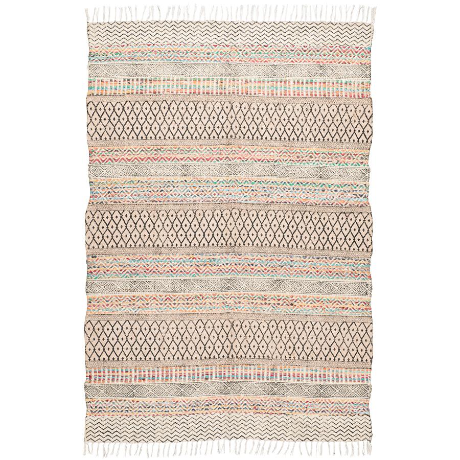 ib laursen teppich jute baumwolle 120x180cm online kaufen emil paula. Black Bedroom Furniture Sets. Home Design Ideas