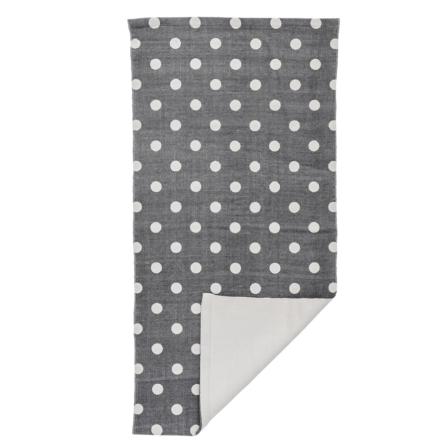 bloomingville teppich cool grey dots online kaufen emil paula. Black Bedroom Furniture Sets. Home Design Ideas