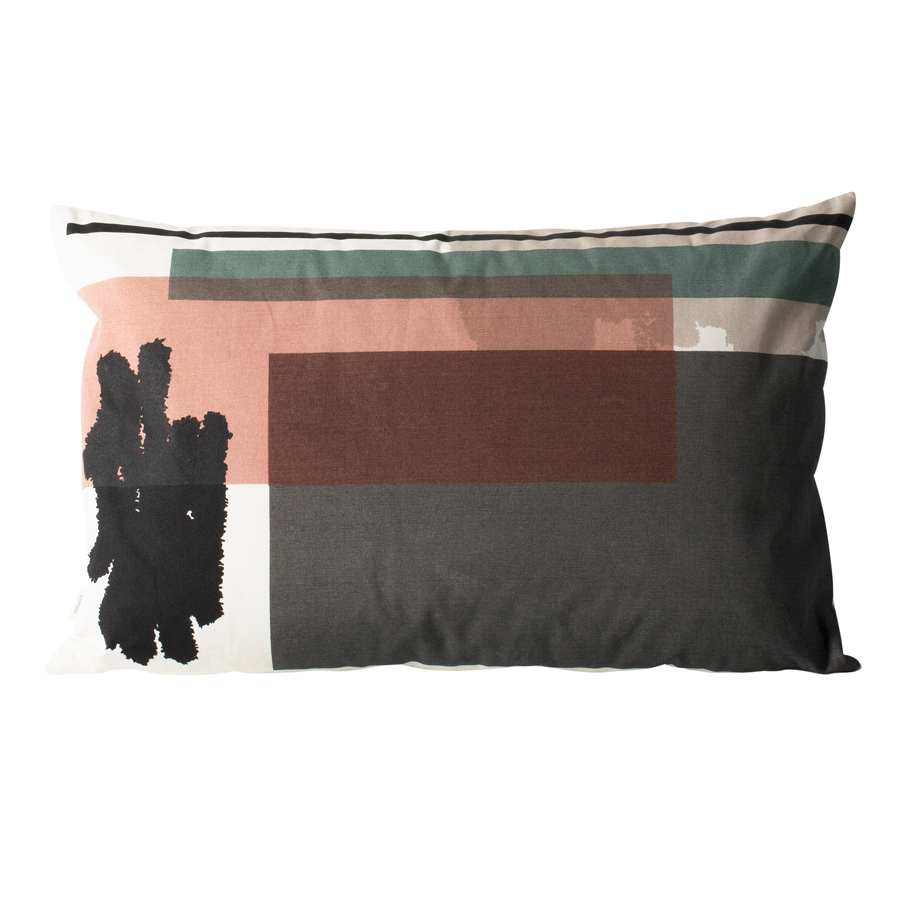 ferm living coussin colour block l4 acheter en ligne. Black Bedroom Furniture Sets. Home Design Ideas