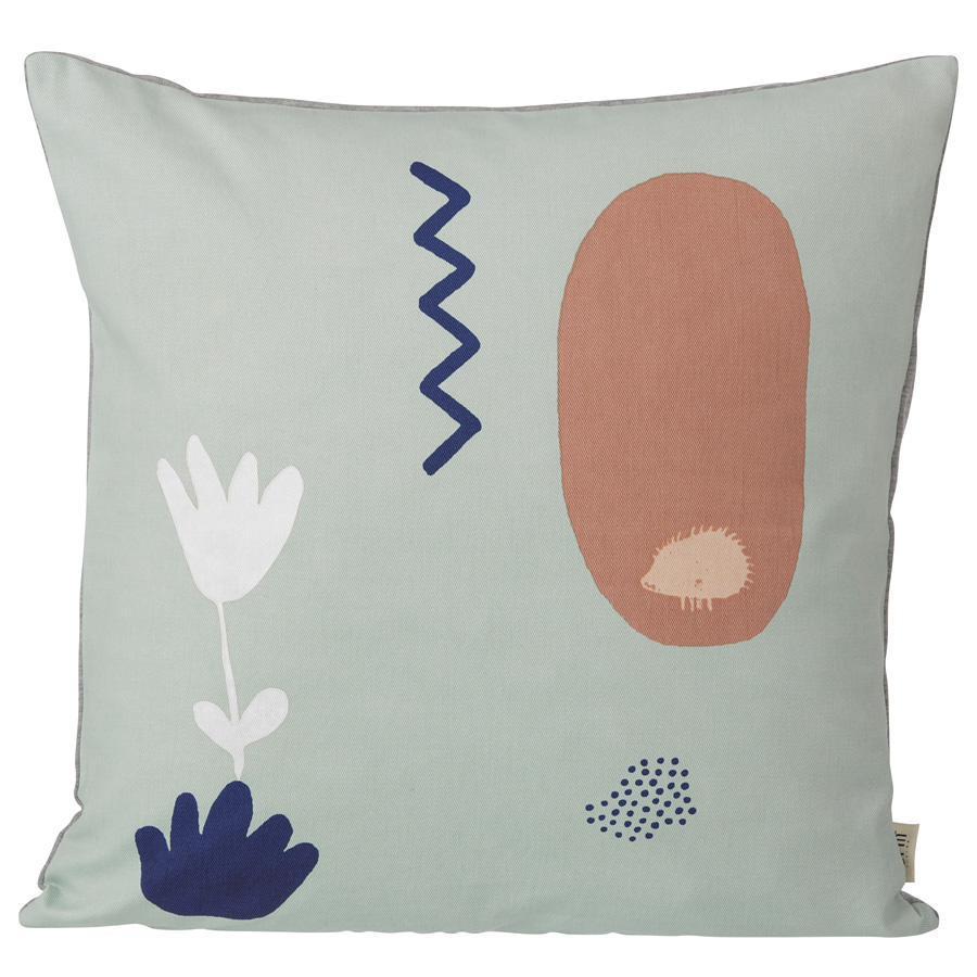 ferm living landscape kissen mint online kaufen emil. Black Bedroom Furniture Sets. Home Design Ideas