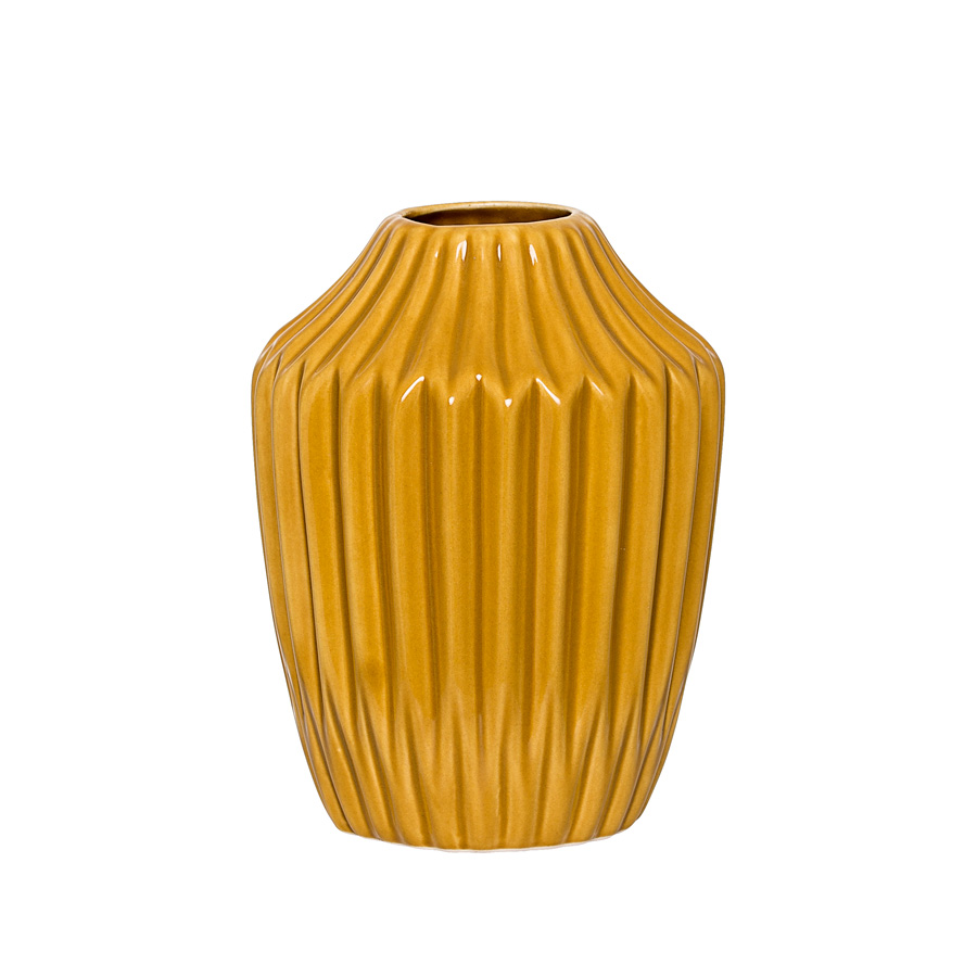 bloomingville vase curry acheter en ligne emil paula. Black Bedroom Furniture Sets. Home Design Ideas