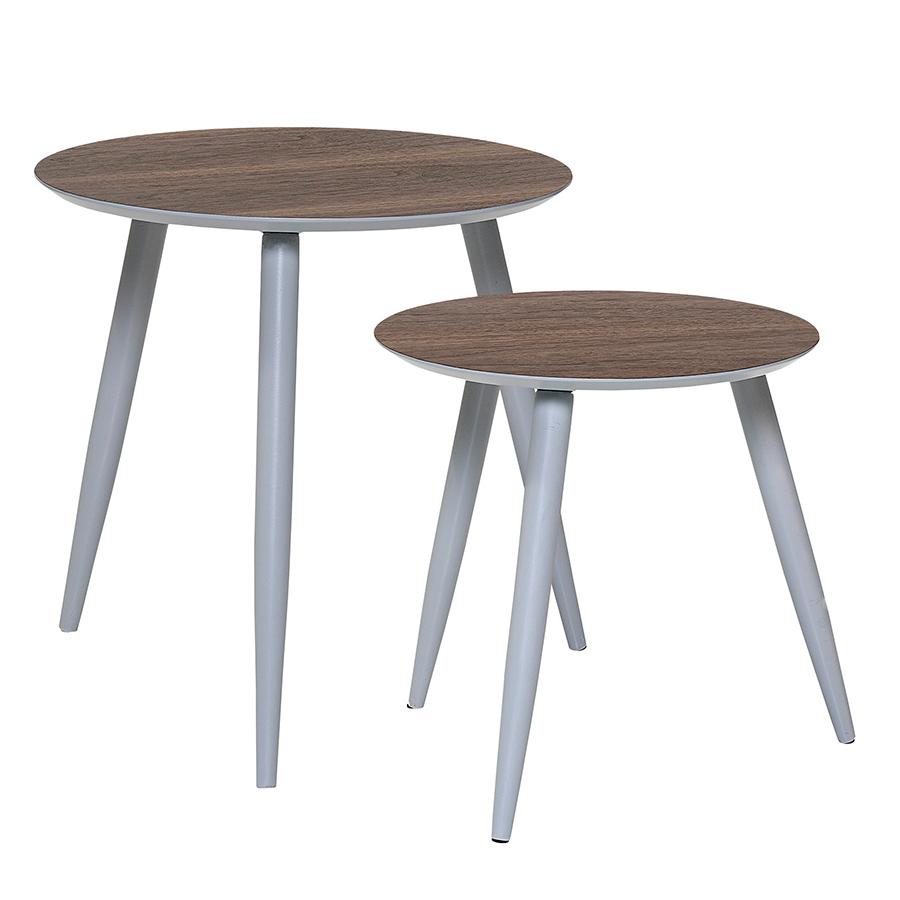 bloomingville beistelltisch asta grey 2er set online kaufen emil paula. Black Bedroom Furniture Sets. Home Design Ideas
