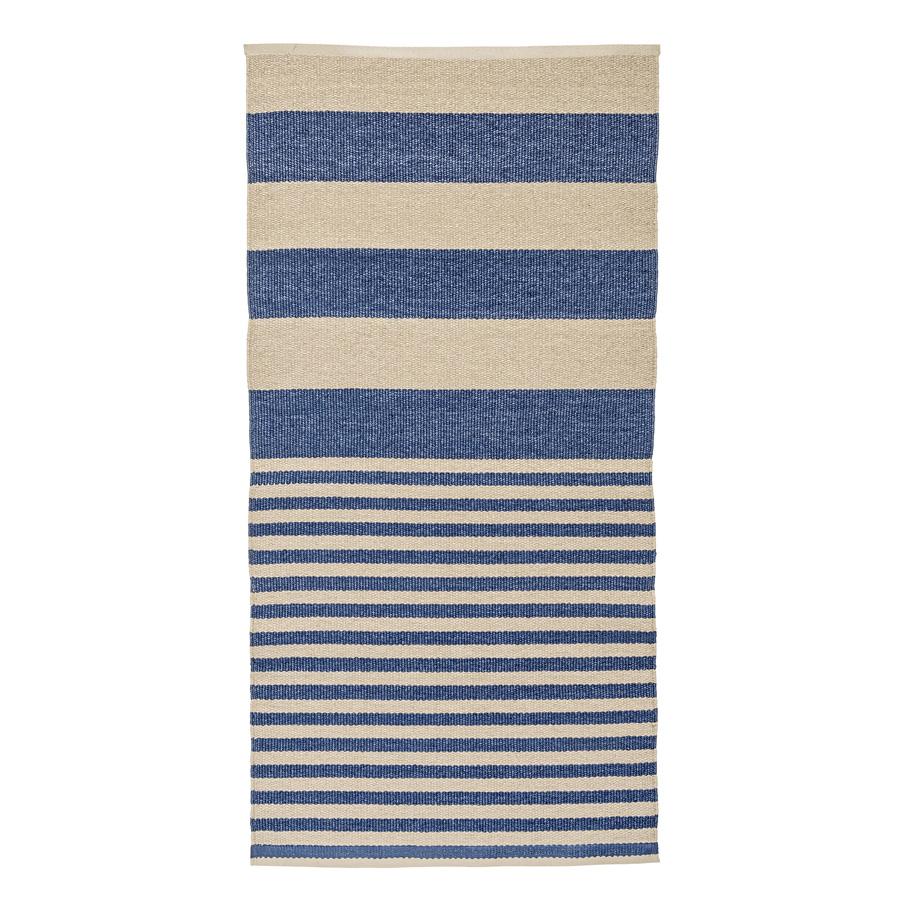 bloomingville teppich stripe ocean online kaufen emil paula. Black Bedroom Furniture Sets. Home Design Ideas