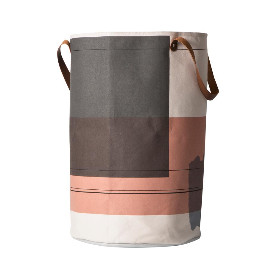 Ferm LIVING Wäschekorb Colour Block