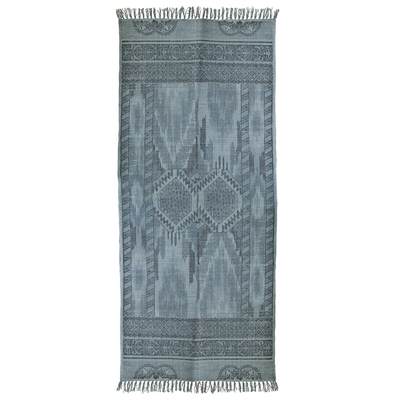 house doctor teppich icat gr nt ne 90 x 200 cm online kaufen emil paula. Black Bedroom Furniture Sets. Home Design Ideas