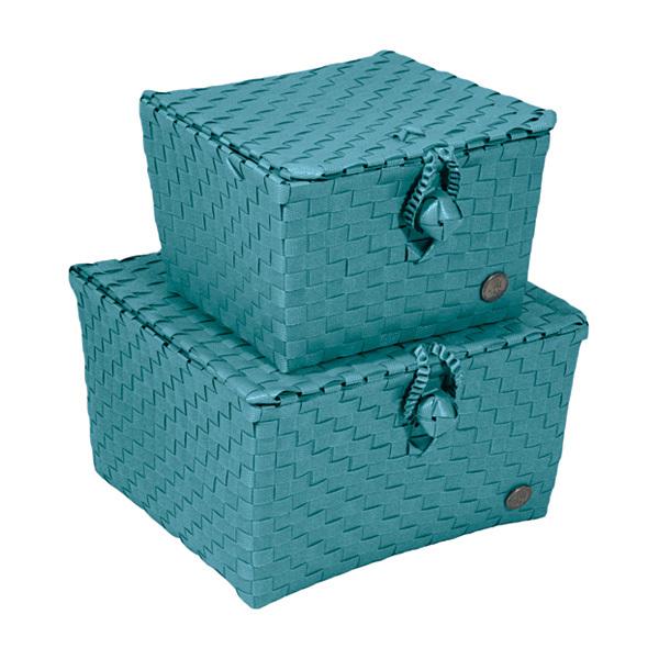 handed by korb mit deckel pisa petrol online kaufen emil paula. Black Bedroom Furniture Sets. Home Design Ideas