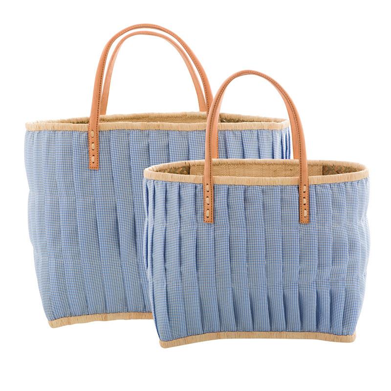 b8d189f999dcc Rice Tasche Vichy-Karo Blau online kaufen