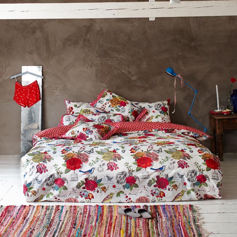 pip studio bettw sche flowers white online kaufen emil. Black Bedroom Furniture Sets. Home Design Ideas