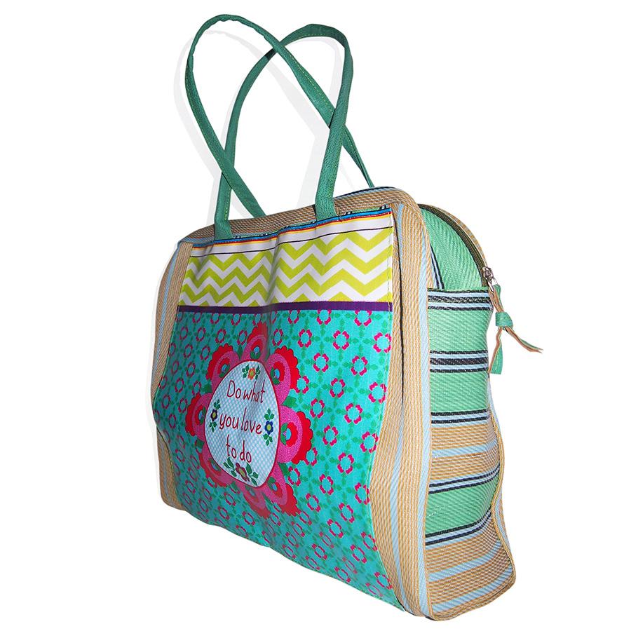 taj wood scherer handtasche shopper prints charming love online kaufen emil paula. Black Bedroom Furniture Sets. Home Design Ideas