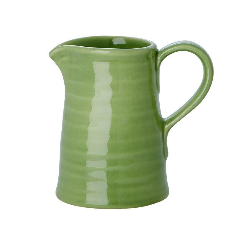 rice kleiner keramikkrug spring green online kaufen emil paula. Black Bedroom Furniture Sets. Home Design Ideas